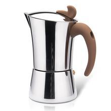 Espresso-Maker FISSMAN Stove Coffee-Pot-Tool Latte Induction Stainless-Steel Mocha