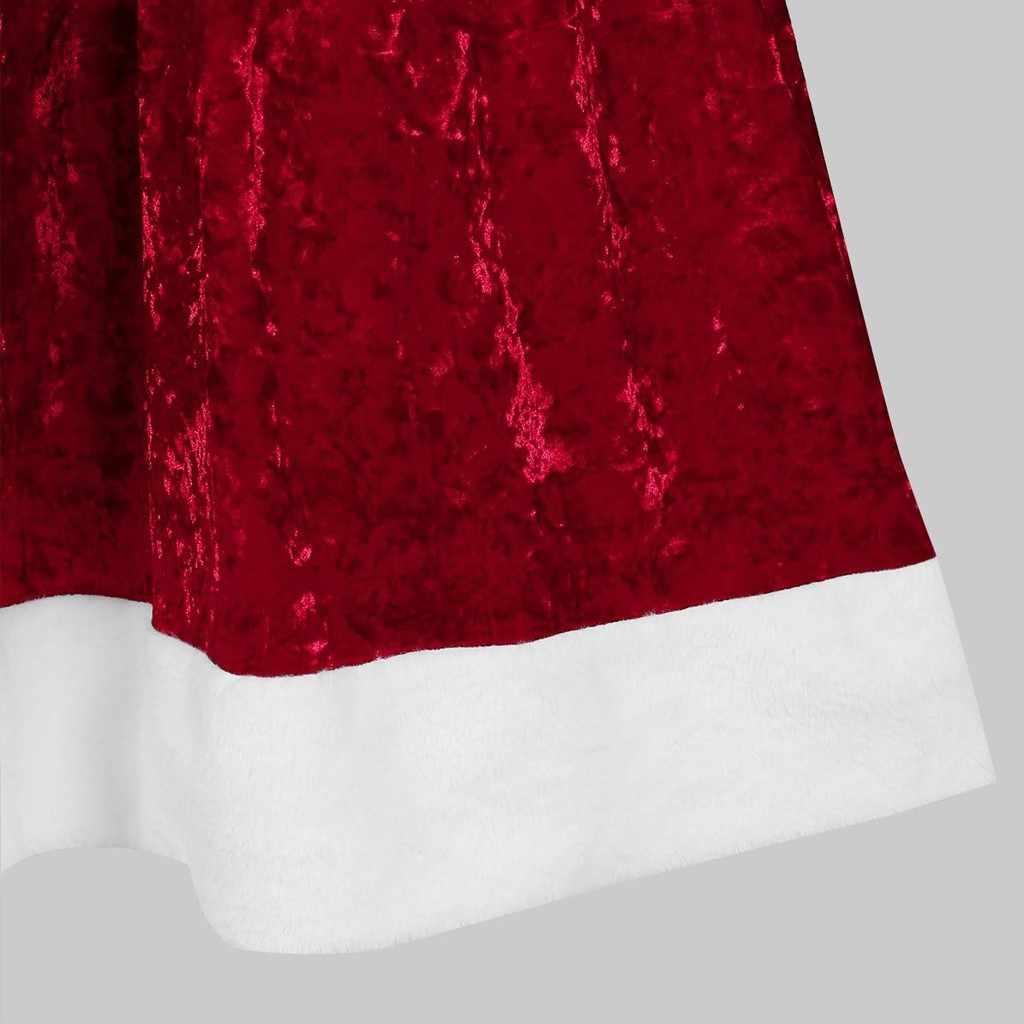 2019 クリスマスポンチョレディースコートマント家族マッチングベルベットクリスマスケープフード付きケープサンタレッドコート服ジャケット