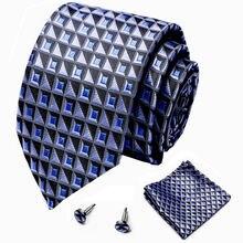 Классический 75 см Ширина полосатые галстуки cravate класса