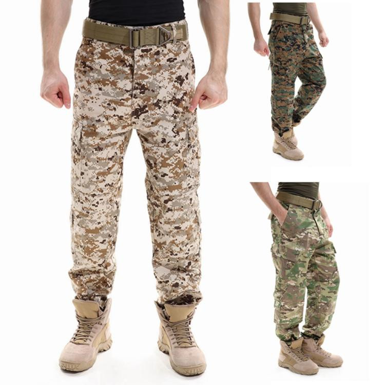 Wholesale High Quality A-TACS FG ACU CP Black Color Ripstop Pants Military Uniform Tactical Desert Camo Hunting Pants BDU Style