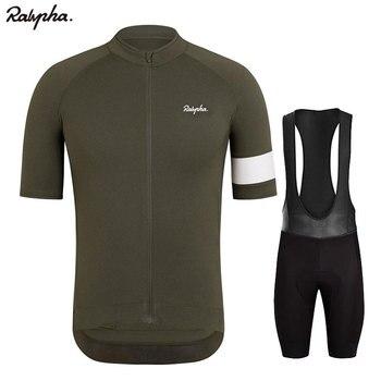2020 nuevo Raphaing pro Ropa Ciclismo Jersey conjunto de pantalones cortos y...