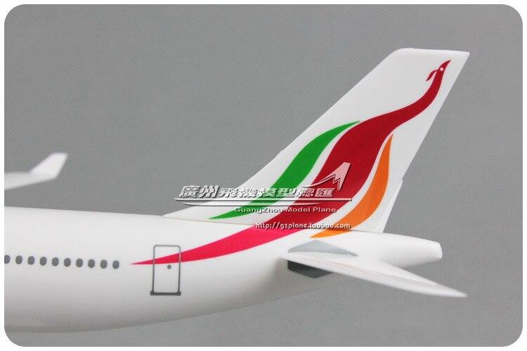aeronave aereo srilankan tamanhos 1200 de plastico 04