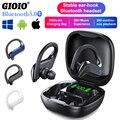MD03 TWS Drahtlose Bluetooth Kopfhörer Stabile Ohr-Haken Touch Control Digitale Display Für Oppo Huawei Iphone Xiaomi Sport Earbuds