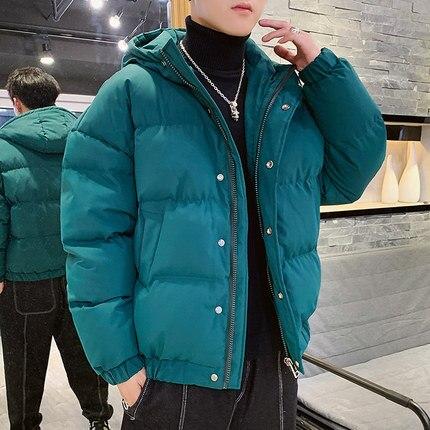 New winter men's jacket quality warm thick coat winter yellow black pike men's warm fashion white duck down jacket bread service