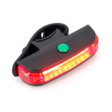 Bicycle Tail Light Cycling Safety Warning Back Lamp USB Rechargeable Mountain Bike Light Band New Wholesales usb rechargeable bike led tail light bicycle safety cycling warning rear lamp bicycle back light 5 modes 2m16
