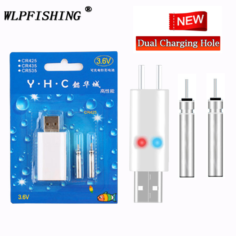 WLPFISHING Fishing Floats Electric Floats Rechargeable CR425 Battery Fishing Float Accessory Suit For Different Charger Devices