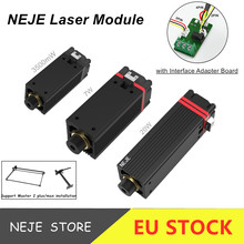 20W/7W/3500mW Laser Module kits CNC Laser Cutting/Engraving Machine 450nm Blue Light With TTL / PWM Modulation for DIY Creation