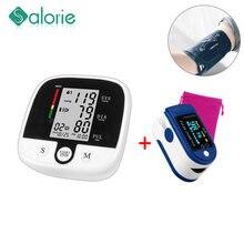 Monitor automático de presión Arterial para brazo, esfigmomanómetro de presión para medir la presión Arterial, cuidado saludable