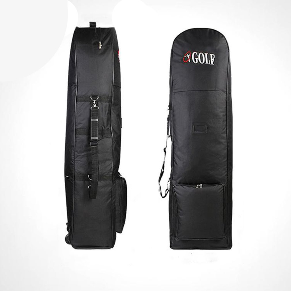 2020 Golf Bag Travel Aviation With Wheels Large Capacity Club Cover Foldable Lightweight Nylon Airplane Travelling Ball Bags New
