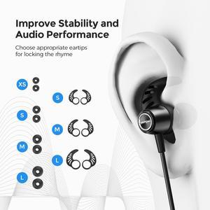 Image 5 - MPOW S16 מגנטי אלחוטי אוזניות IPX7 עמיד למים Bluetooth 5.0 ספורט אוזניות עם 12H למשחק עבור iPhone 11 Xiaomi סמסונג