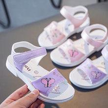 Girls Sandals Flowers Sweet butterfly Children's Beach Shoes Kids Summer Floral Open-toe Baby Girl Sandals Princess