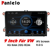 Panlelo 9 inch Autoradio For Passat Car Android 8.1 GPS Navigation Stereo Radio Multimedia Player Golf Polo Leon