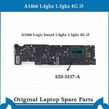 Original logic board for Macbook Air A1466 Motherboard 820-3437-B Main Board i5 4G 1.4ghz 1.3ghz 2013-2014 tested