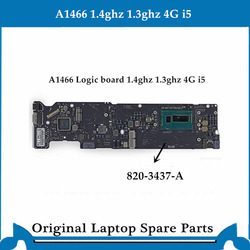 Originele Logic Board Voor Macbook Air A1466 Moederbord 820-3437-B Moederbord I5 4G 1.4 Ghz 1.3 Ghz 2013- 2014 Getest