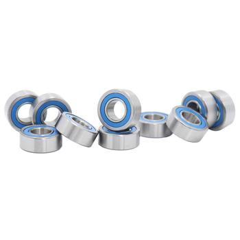 686-2RS Bearing ABEC-3 ( 10 PCS ) 6x13x5 mm Miniature 686RS Ball Bearings 618/6RS Blue Sealed 686 2RS Rulman 10pcs high quality abec 5 mr117zz mr117 2rs smr117zz smr117 2rs 7 11 3 mm 7x11x3 mm miniature thin wall deep groove ball bearing