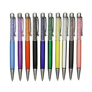 Image 2 - Bolígrafo decorativo de diamante de cristal para estudiantes