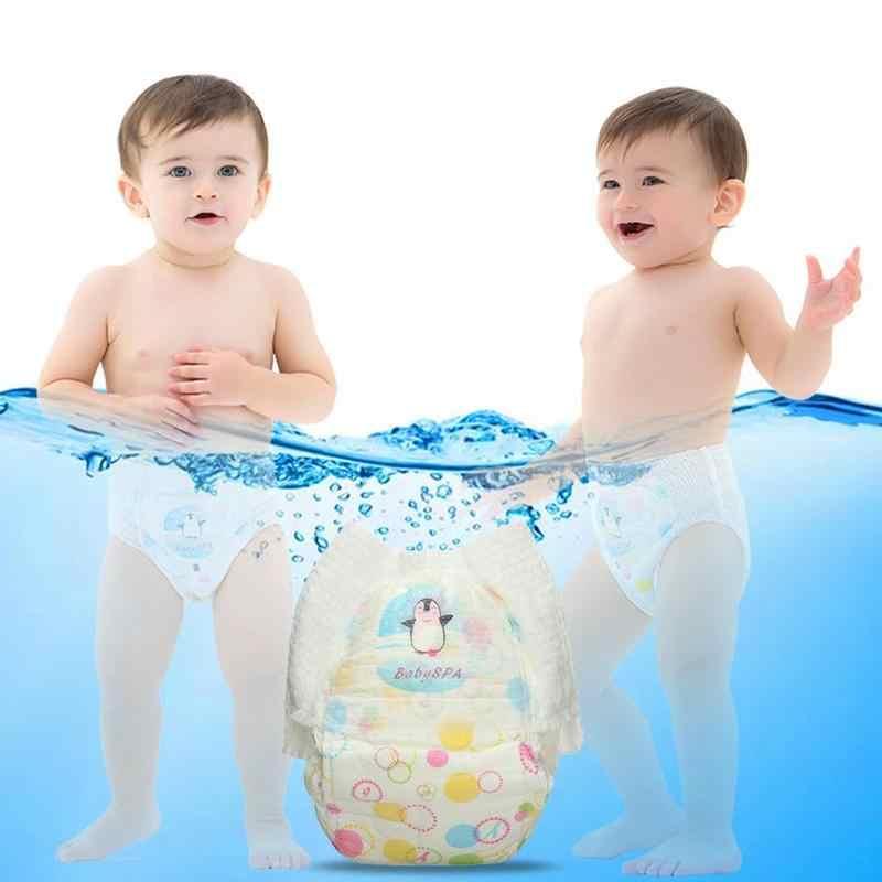 아기 수영 기저귀 방수 조절 천 기저귀 바지 기저귀 기저귀 수영 펭귄 풀 16 6 만화 신생아 A4S3