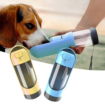 Portable Pet Dog Water Bottle Drinking Bowls   1