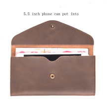 Men Genuine Leather  Credit Card Wallets Short  ID Card Holders  Wallet