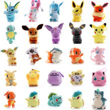 Хит продаж плюшевые куклы pokemon eevee 10 14 см моросеон leafeon