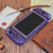 Agganciabile per Nintendoswitch Dura di Caso Nitendo Nintend Interruttore Accessori Per Il Trasporto Borsette Copertura per Nintendos Interruttore