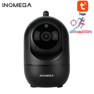 INQMEGA Mini Size 1080P IP Camera Tuya App WiFi Indoor Home Security Camera Auto Tracking Surveillance Night Vision Motion Alarm