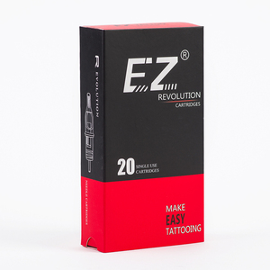 Image 2 - EZ Revolution Tattoo Cartridge #12 (0.35 mm) Curved Magnum Needle for Rotary Tattoo Machine Grips Suppies 20 PCS/Box