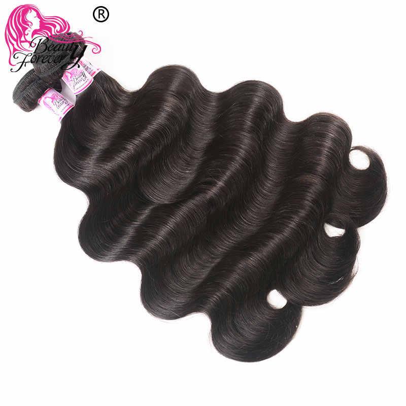 Body Wave Braziliaanse Haar Weefsel 3 Bundels 100% Remy Menselijk Haar Weven Natuurlijke Kleur 8-30 Inch Hair Beauty forever
