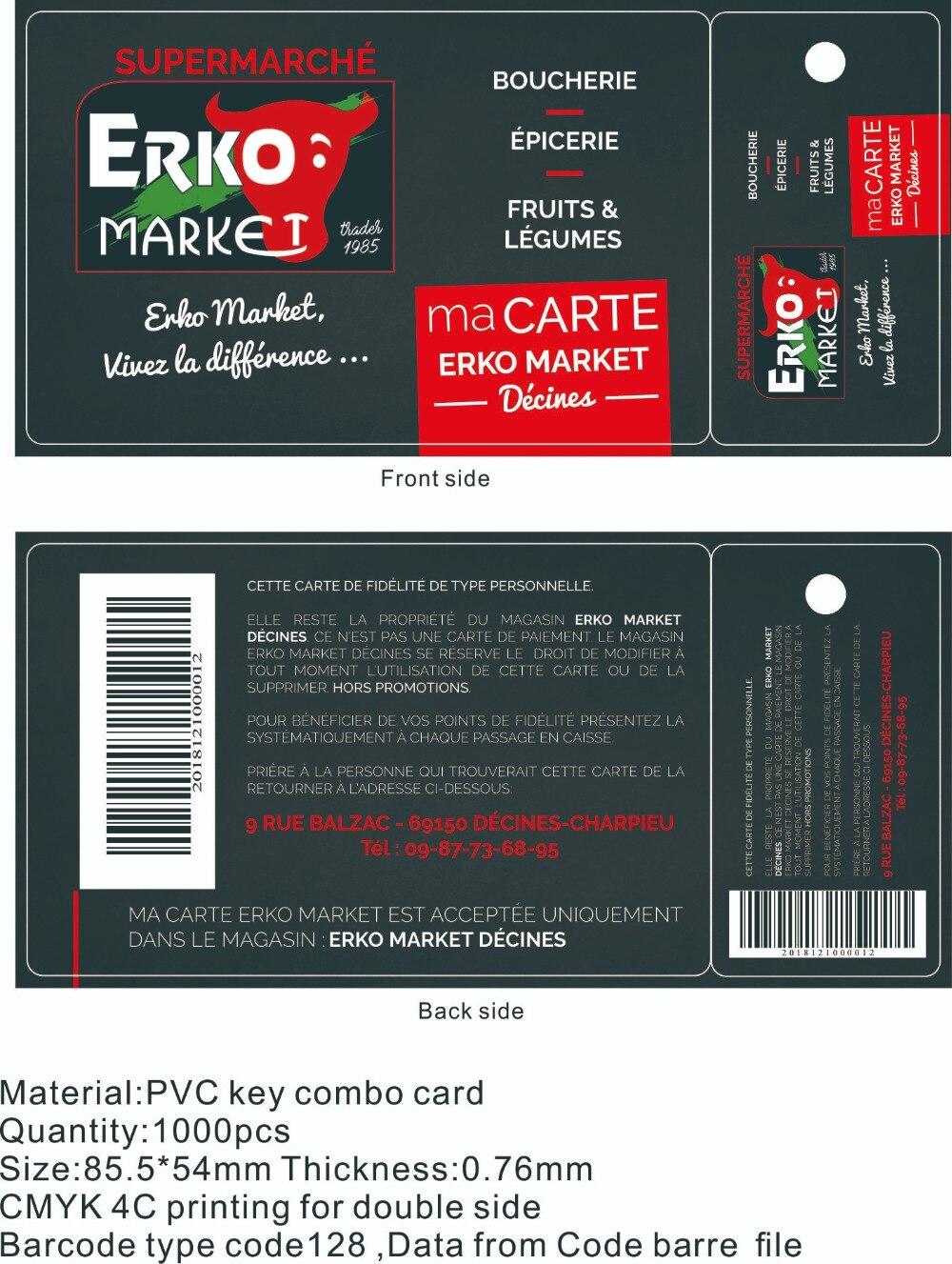 Erko key Card