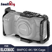 SmallRig bmpcc 4k Cage DSLR Camera Blackmagic Pocket 4k / 6K Camera for Blackmagic Pocket Cinema Camera 4K / 6K BMPCC 4K 2203 tilta 15mm rod bmpcc cage bmpcc kits bmpcc support rig black magic pocket cinema camera bmpcc stabilizer
