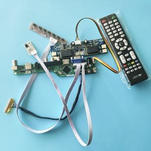 1280*1024 4ccfl diy kit tela universal lcd controlador placa caber l170e3/m170en04/m170en05/m170en06 vga + av + usb lvds 30 pinos