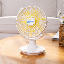 Desk USB charging mini ultra-quiet home desktop fan electric cooling portable office small fan small appliances