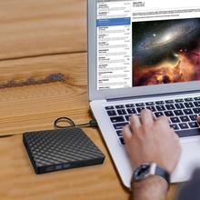 USB 3.0 External DVD For Burner Writer Recorder RW Optical Drive Dvd PC Supplies Player CD/DVD ROM Reader Player For Laptop