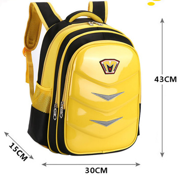 Yellow Satchel Bag Kids Reflective Back Pack Nice Primary School Bags Book Boys Girls Waterproof School Bags Safety Walking susan kesselring school safety