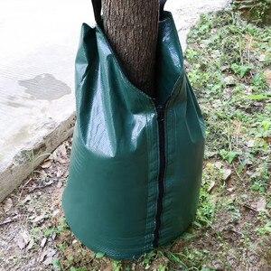 Мешок для полива деревьев, 20 галлонов, медленный полив, мешок для деревьев, брезент, ПВХ, мешок для полива, дерево, капельное орошение, прочны...