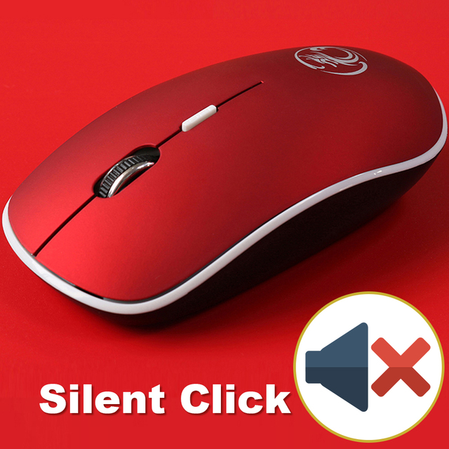 Silent Click Red