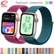 Strap For Apple Watch bands Nylon apple watch 4 band 44mm 40mm iWatch band 42mm sport loop correa 38 mm bracelet watchband 3 2 1
