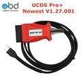 UCDS V1.27.001 для FOCOM UCDS Pro + с 35 токенами, полная лицензия, полная активация UCDS для Ford с 2004-2017 OBD2 Диагностический кабель