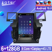 64G For Land Range Rover Sport 2005  2008 2009 Android Radio Tape Recorder Car Multimedia Player Stereo Head Unit Tesla GPS Navi