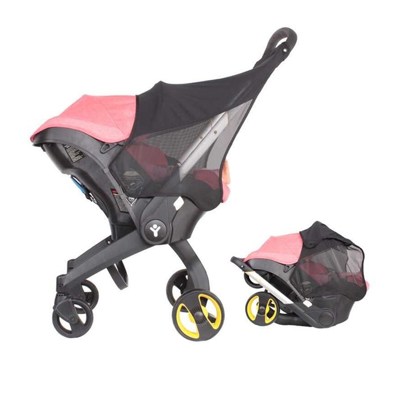4 in 1Carseat Stroller Accessories Rain Cover Sunshade Cover Mosquito Net waterproof Cover Change Washing Kit for Doona Stroller