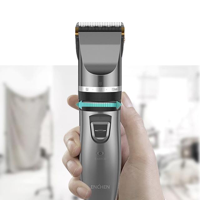 Профессиональная машинка для стрижки волос ENCHEN Hair Cutter Machine