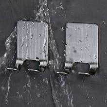Shelf Bathroom Razor-Holder Shaving-Razor-Rack Storage-Hook Punch-Free Home-Viscose Men