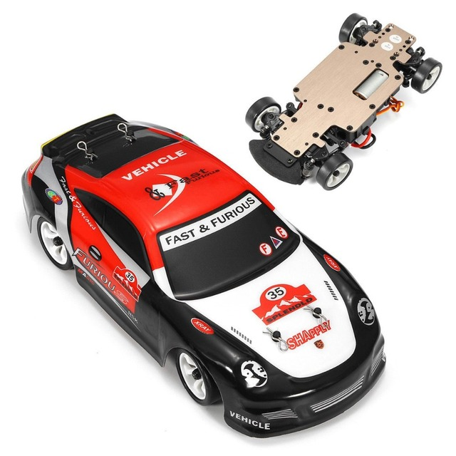 Wltoys K969 1:28 RC Car 2.4G 4WD Brushed Motor Voiture Telecommande 30KM/H High Speed RTR RC Drift Car Alloy Remote Control Car 4