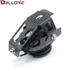 Image 4 - 가와사키 닌자 h2r ZX 6R ZX 6R 몬스터 에너지에 대 한 스포트 테일 램프 안개 빛을 운전하는 범용 12 v 오토바이 금속 led 미등