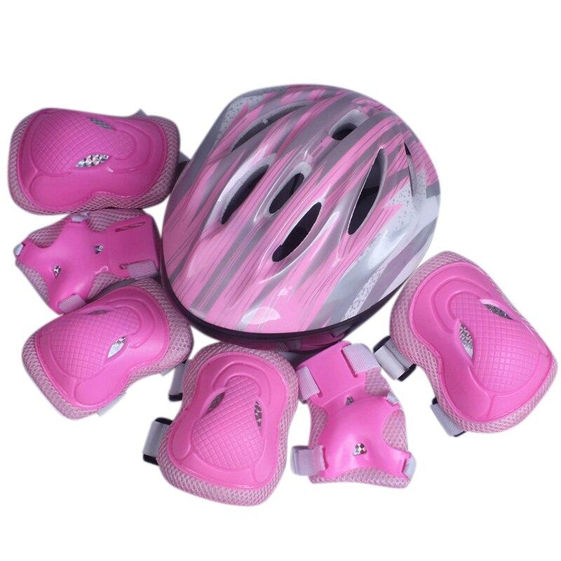 Children Kneepads Protective Equipment Set Practical Durable For Roller Skating Cycling Skateboard 7pcs/set