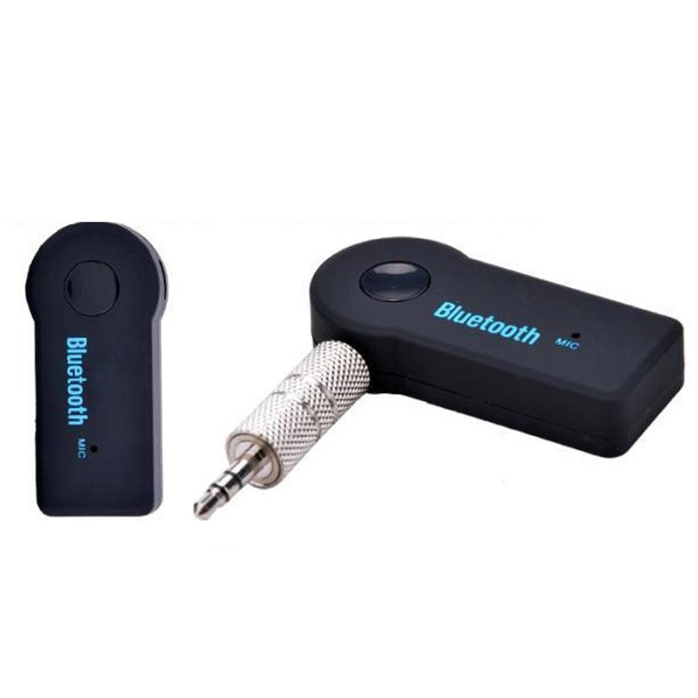 Otomobiller ve Motosikletler'ten Araba MP3 Oynatıcılar'de 3.5mm Stereo ses çıkışı Bluetooth müzik alıcısı kablosuz bluetooth 3.0 müzik ses alıcısı ses çıkışı araç kiti title=