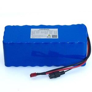Image 2 - 36v 8ah 10s4p 500w 18650 bateria recarregável, bicicletas modificadas, veículo elétrico 36v proteção com bms + 42v 2a carregador