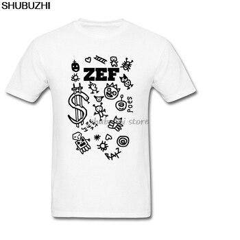 Koszule męskie Custom Design męska Zef Die Antwoord mężczyźni t-shirty mężczyźni bawełniana koszulka lato modny top tees darmowa wysyłka sbz1315