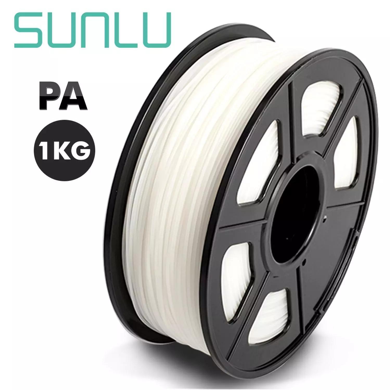 SUNLU 3D-принтеры нити прозрачный PA нейлоновые нити 1,75 мм 1 кг/2.2LB с катушку с нитью высокое качество и без пузырей