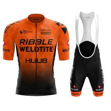 Huub Maillot Ciclismo Summer Ribble Weldtite Bike pro team suit knitting cycle Jersey Sets bicycle Cycling ropa mtb Clothes new pro team strava cycling set bike jersey sets cycling suit bicycle clothing maillot ropa ciclismo mtb kit sportswear nw